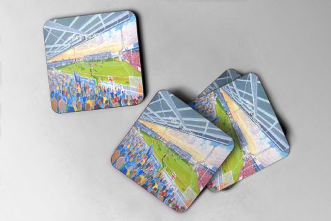 victoria park hufc Coaster set of four